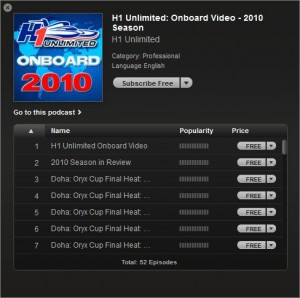 H1 Unlimited video podcasts are now on iTunes!