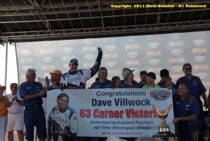 Dave Villwock wins 63 to surpass Bill Muncey as top winner of all time