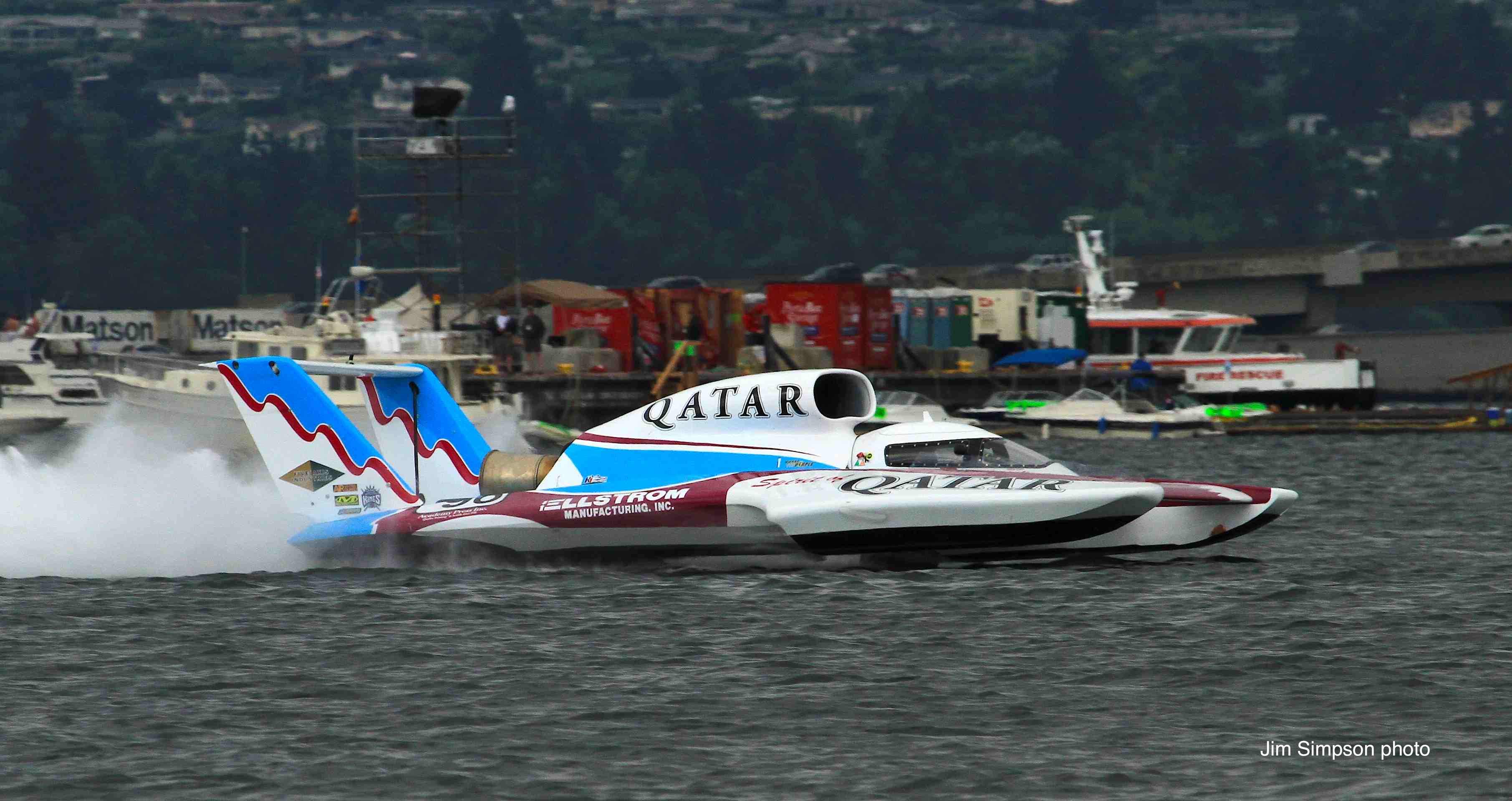 Villwock Top Qualifier in Air National Guard Seattle Race – H1 Unlimited