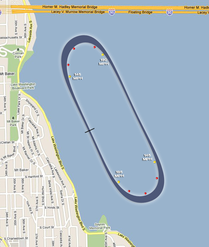 Seattle Course Map