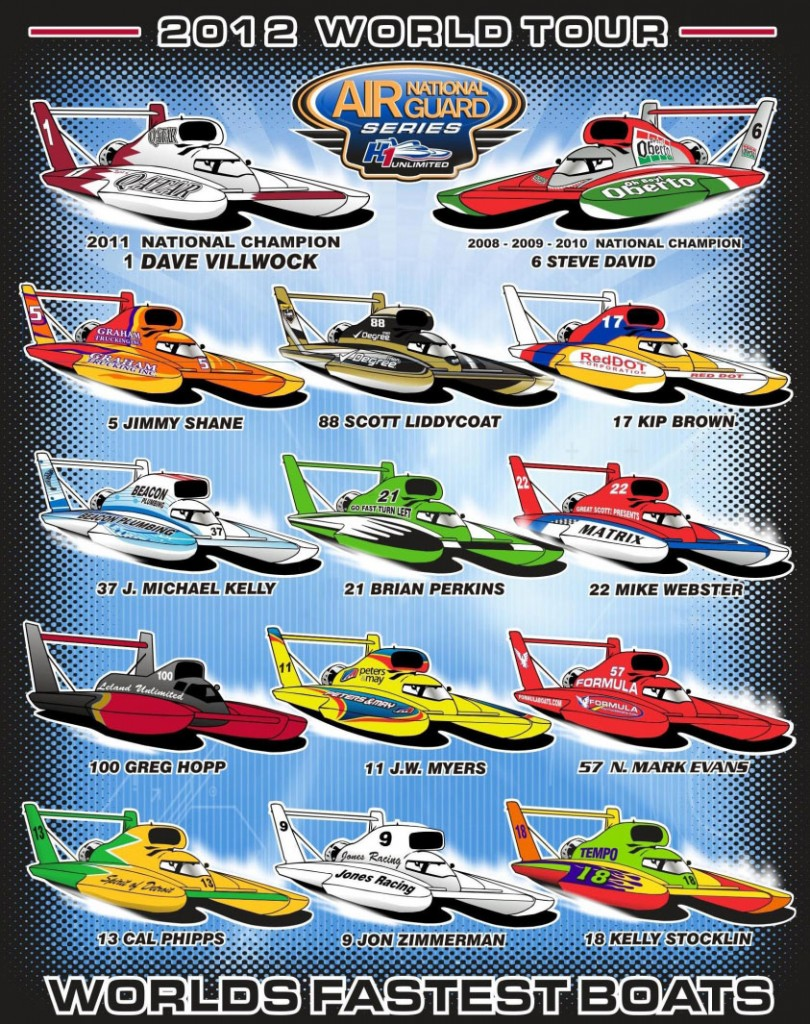 2012 Spotter's Guide