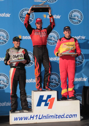 Podium Seafair