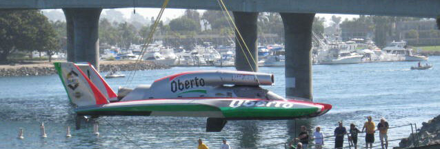 Oberto Is Tops In Bayfair Qualifying