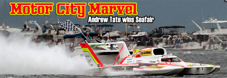 Rookie Andrew Tate Wins Albert Lee Appliance Seafair Cup