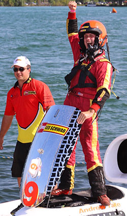 Tate Wins President's Cup With Muncey-Like Start