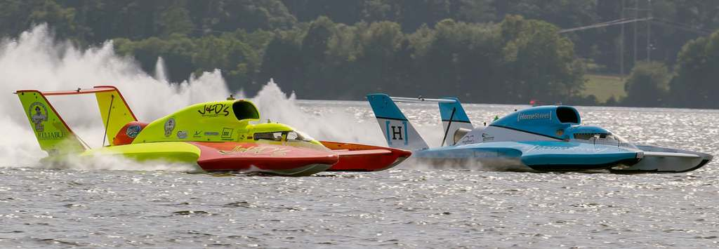 Six hydroplanes set to rip-up the aqua oval on Lake Guntersville